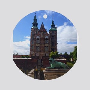 Rosenborg Castle Round Ornament