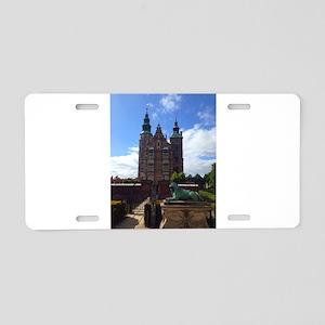 Rosenborg Castle Aluminum License Plate