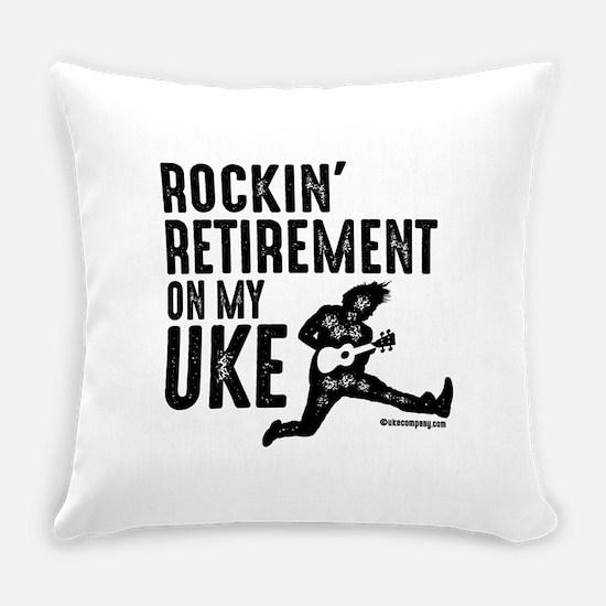 Rockin Retirement Uke Everyday Pillow