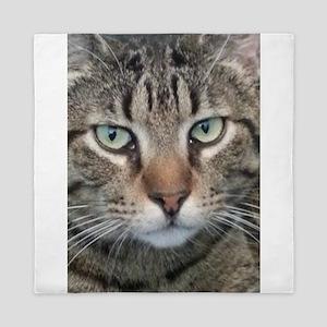 Brown Tabby Cat Queen Duvet