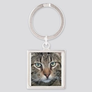 Brown Tabby Cat Keychains