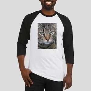 Brown Tabby Cat Baseball Jersey