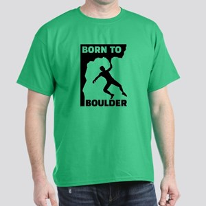 Born to Boulder Dark T-Shirt