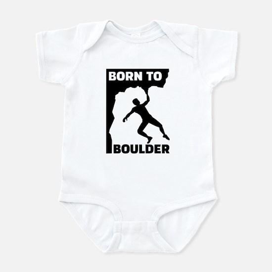 Born to Boulder Infant Bodysuit