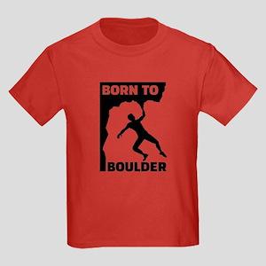 Born to Boulder Kids Dark T-Shirt