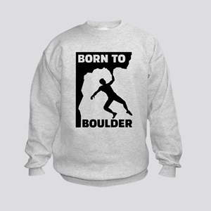 Born to Boulder Kids Sweatshirt