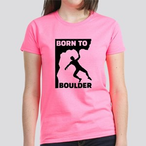 Born to Boulder Women's Dark T-Shirt