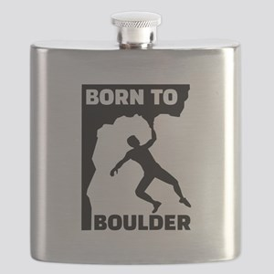 Born to Boulder Flask