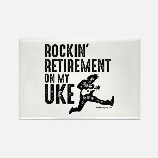 Rockin Retirement Uke Magnets