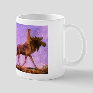 Leap the Elk Fantasy Art Mug