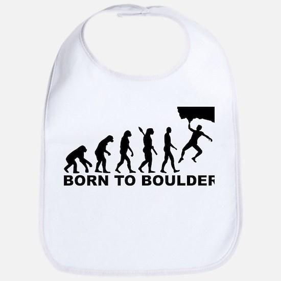Evolution Born to Boulder Bib