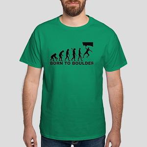 Evolution Born to Boulder Dark T-Shirt