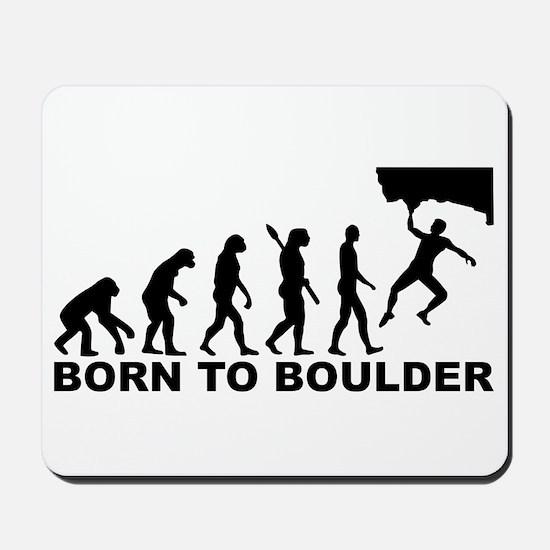 Evolution Born to Boulder Mousepad