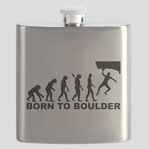 Evolution Born to Boulder Flask