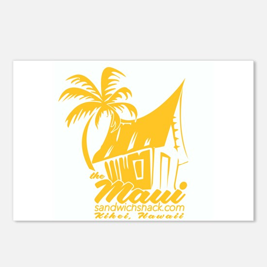 The Maui Sandwich Shack Postcards (Package of 8)