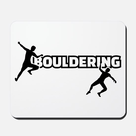 Bouldering Mousepad