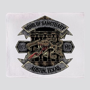 Sons of Sanctuary Throw Blanket