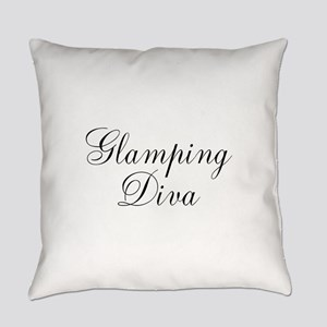 Glamping Diva Everyday Pillow