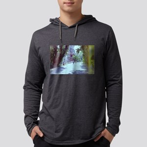 scenic ghost town travel stree Long Sleeve T-Shirt