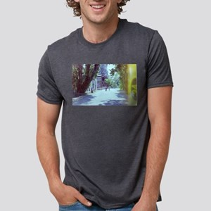 scenic ghost town travel street T-Shirt