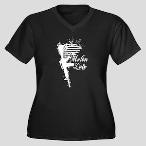Molon Labe AR Plus Size T-Shirt