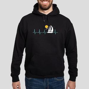 Sailing Heartbeat Hoodie (dark)