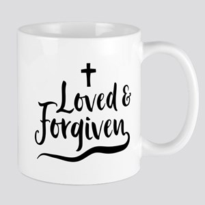 Loved And Forgiven Mugs
