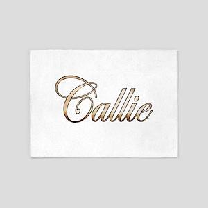 Gold Callie 5'x7'Area Rug