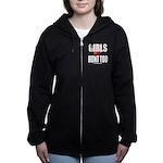 Girls Hunt Too Women's Zip Hoodie