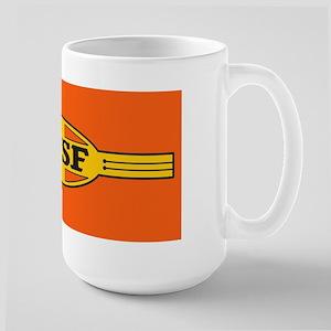 Bnsf Railway War Bonnet (large) Mugs