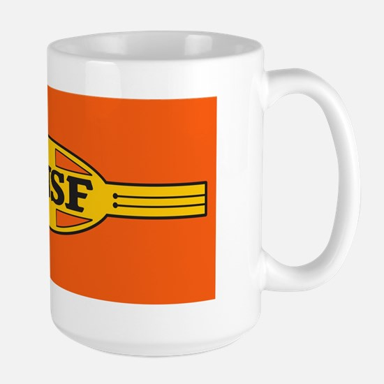Bnsf Railway War Bonnet (large) Mugs
