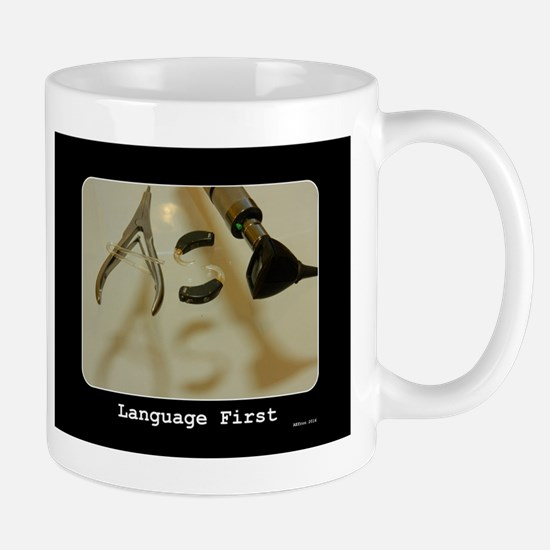 Language First Mugs