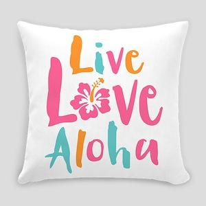 Live Love Aloha 2 Everyday Pillow