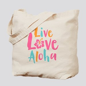 Live Love Aloha 2 Tote Bag