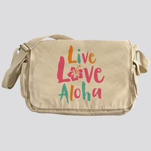 Live Love Aloha 2 Messenger Bag