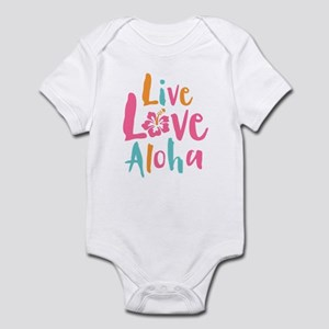 Live Love Aloha 2 Infant Bodysuit