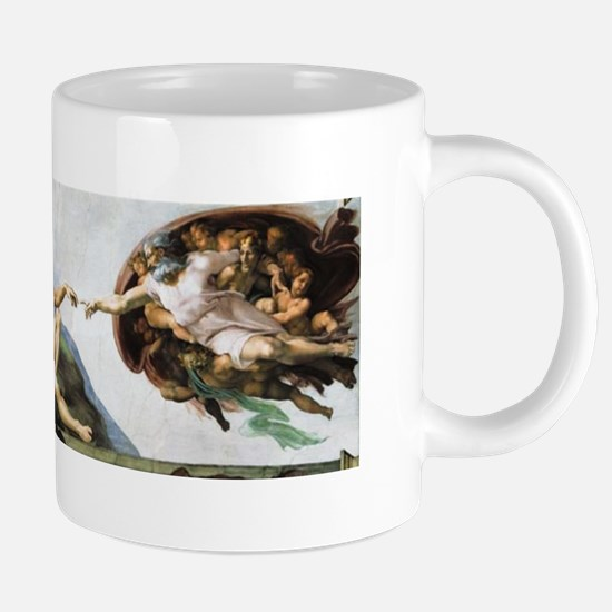 Creation of Adam Mugs