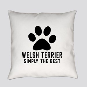 Welsh Terrier Simply The Best Everyday Pillow