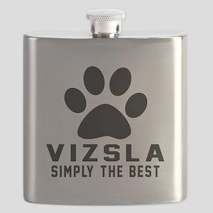 Vizsla Simply The Best Flask