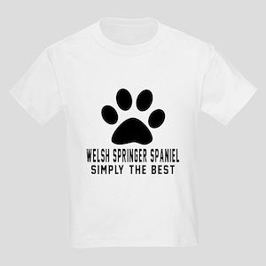Welsh Springer Spaniel Simply T Kids Light T-Shirt