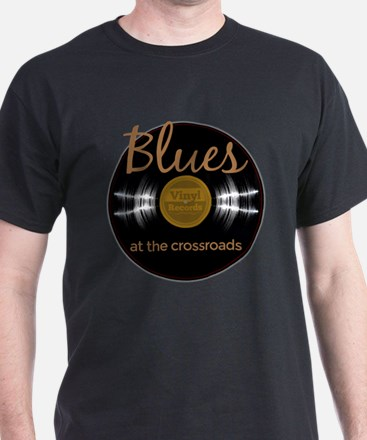 Vintage Blues at The Crossroads Music T-Shirt