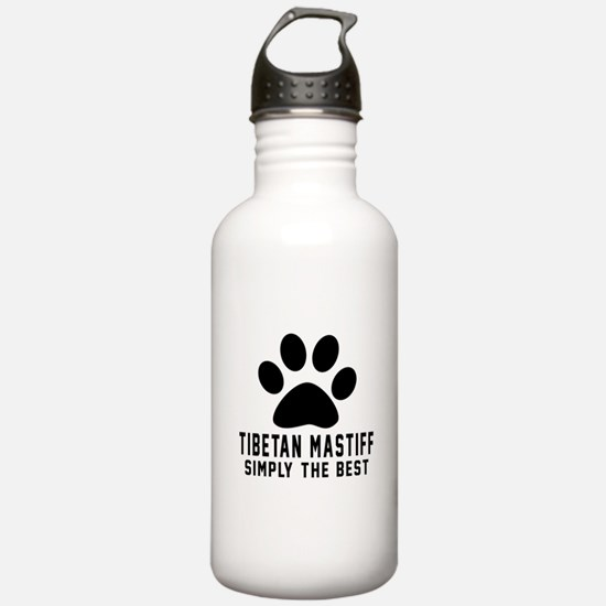 Tibetan Mastiff Simply Water Bottle