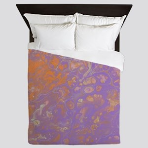 Orange Creamsicle Queen Duvet