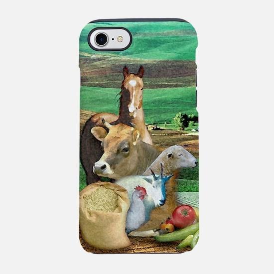 Life on the Farm iPhone 8/7 Tough Case