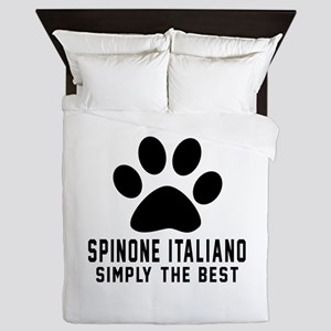 Spinone Italiano Simply The Best Queen Duvet