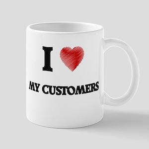 I love My Customers Mugs