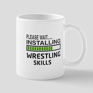 Please wait, Installing Wrestling Skill Mug