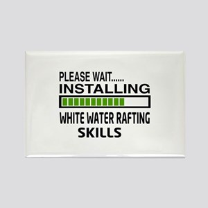 Please wait, Installing White wat Rectangle Magnet