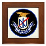 USS Northampton (CC 1) Framed Tile