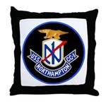 USS Northampton (CC 1) Throw Pillow